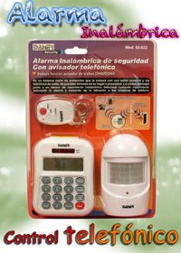 Alarma Inalambrica Telefonica